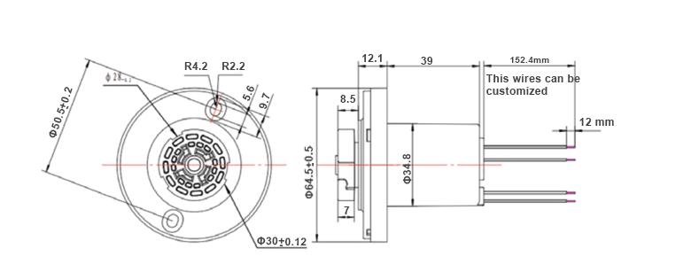 JL-710 zhaga sizes