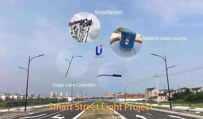 smart street light project